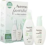 Aveeno Clear Complexion Cleanser & Moisturizer Favorites Pack