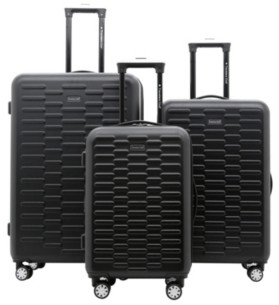 Travelers Club 3-Pc. Shannon Spinner Expandable Luggage Set