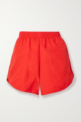 Balenciaga Shell Shorts - Red