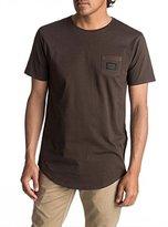Quiksilver Men's SS Scallop Tee East Woven Pocket T-Shirt