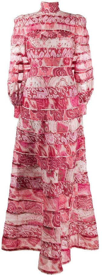 Zimmermann Wavelength spliced maxi dress