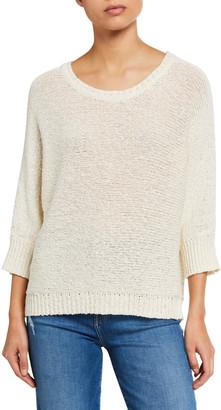Elie Tahari Monroe Cotton/Hemp Sweater
