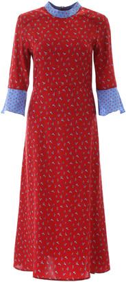 HVN Printed Ashley Dress