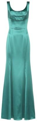 Dolce & Gabbana Silk-blend gown