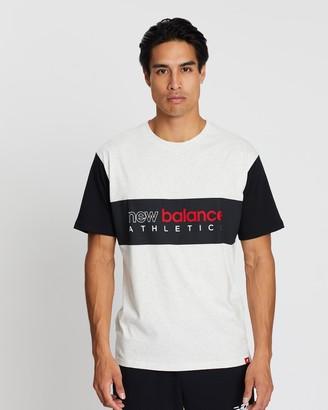 New Balance Essentials Icon Chest Stripe Tee