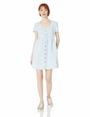 Volcom Women's Making Me Plaid DRS Dress