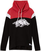 PINK University Of Arkansas Cowl Pullover