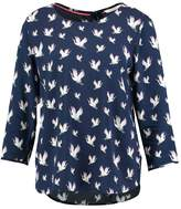 Tom Tailor PRINTED TUNIC Blouse dark blue
