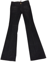 Gucci Anthracite Cotton Trousers