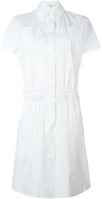 Carven Short-Sleeve Shirt Dress