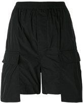 Rick Owens loose-fit shorts - women - Polyester/coriandrum sativum fruit oil - 40