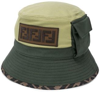 Fendi Kids FF-motif bucket hat