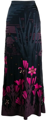 Temperley London Florette maxi skirt