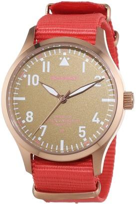 Pop Pilot Unisex Quartz Watch with Lis Analogue Quartz Nylon P4260362631117