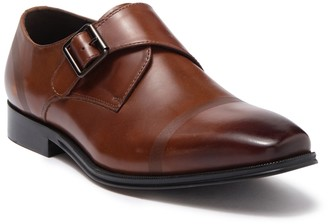 Kenneth Cole Reaction Pure Monk B Leather Monk Strap Loafer