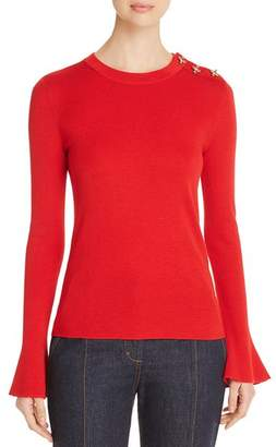 Tory Burch Bijoux Embellished Sweater