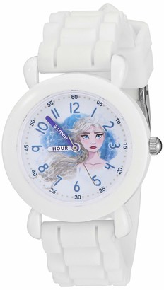 Disney Girls' Frozen 2 Analog Quartz Watch with Silicone Strap