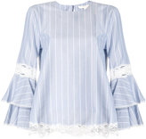 Jonathan Simkhai striped blouse - women - Cotton - XS