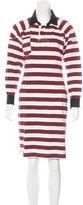 Isabel Marant Striped Long Sleeve Dress