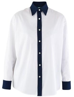 Miko Miko Blue detail shirt