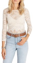 Billabong Women's Little White Lies Laser Cut Shirt