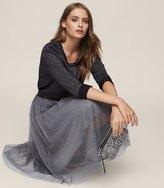 Reiss Crystal Tulle Skirt