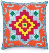 Karma Living Cruz Pillow - Turquoise