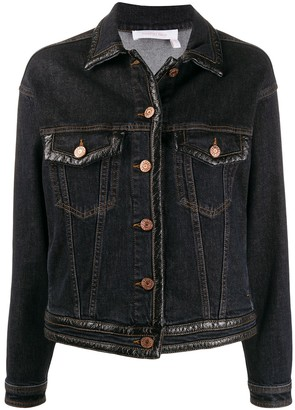 See by Chloe Slim-Fit Denim Jacket