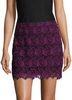 Alice + Olivia Women's Riley Lace A Line Skirt
