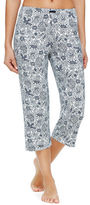 Ellen Tracy Plus Patterned Cropped Pant