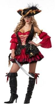 BuySeasons BuySeason Women's Sexy Spanish Pirate Costume