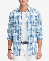 Polo Ralph Lauren Men's Big & Tall Classic-Fit Plaid Linen Workshirt