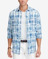 Polo Ralph Lauren Men's Big & Tall Classic-Fit Plaid Linen Workshirt