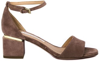 Roberto Festa Brown Apice Suede Sandals