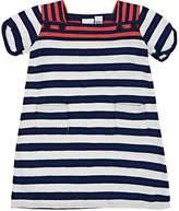 Petit Bateau INFANTS' STRIPED COTTON SHIFT DRESS