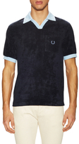 Fred Perry Towelling Leisure Polo Shirt