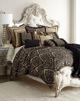 "Dian Austin Couture Home Florence Jet Bullion Fringe Pillow, 16"" x 13"""