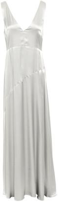 Les Héroïnes Crepe-satin Maxi Dress