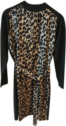 Louis Vuitton Khaki Wool Dresses