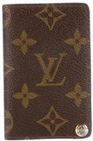 Louis Vuitton Monogram Porte-Carte Credit Pression