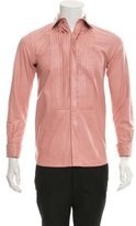 Tom Ford Leather Button-Up Shirt