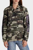 Glamorous Camo Sequin Jacket