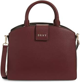 DKNY Clara Leather Crossbody Satchel
