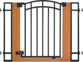 Summer Infant 07534 Stylish, Secure Metal and Wood Walk Thru Gate
