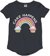 Junk Food Clothing Youth Girl's Cake Happens Tee