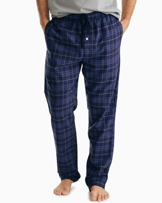 Southern Tide Mainmast Plaid Flannel Lounge Pant
