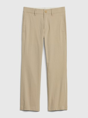 Gap Kids Straight Hybrid Tech Pants with QuickDry