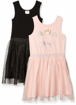 Spotted Zebra 2-Pack Sleeveless Tutu Dresses