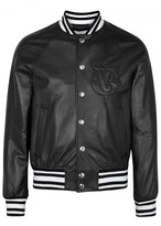 Givenchy Teddy Leather Bomber Jacket