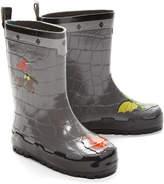 Kidorable Gray Knight Rain Boot - Toddler & Boys